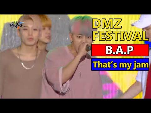 B.A.P - That`s my jam, 비에이피 - 댓츠 마이 잼 2016 DMZ Peace Concert 20160815