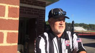 Behind the lines with an OHSAA football official