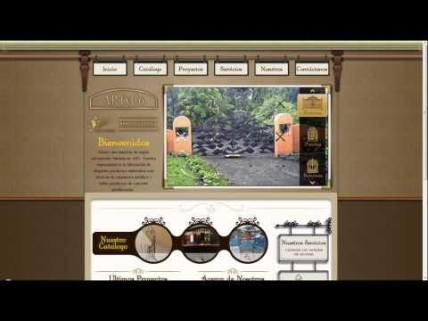Páginas Web de El Salvador - Agosto de 2013