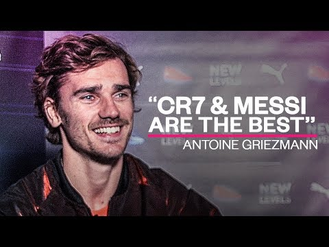 "Griezmann: ""Ronaldo and Messi are the best players of all time!"" - Oh My Goal"