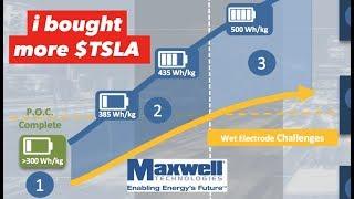 Tesla + Dry Battery Electrodes = Gamechanger