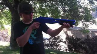 Маркер JT Splatmaster Z200 Shotgun blue