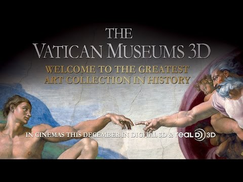 Vatican Museums in 3D - 3D Trailer
