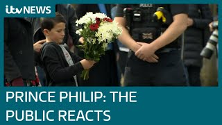 Prince Philip: How Britain reacted to the Duke's death | ITV News