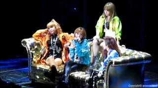 "(Whole Concert Part. 4) 2NE1 - ""I Don't Care"" Reggae Ver. @ Prudential Center, NJ [HD]"