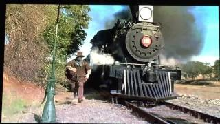 Back to the future part lll (1990) last train scene full (English dub) part1