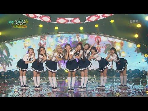 뮤직뱅크 - [2016 리우 올림픽 특집] 오마이걸 - 내 얘길 들어봐.20160805