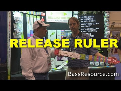 Bass Release Ruler | Bass Fishing