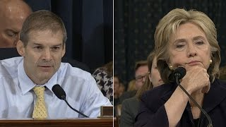 Hillary Clinton questioned by House Benghazi Committee