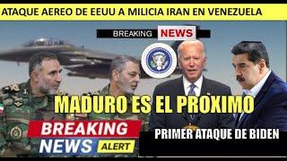 Joe Biden toma acción militar por primera vez Maduro sera el proximo
