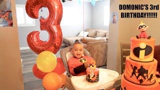 DOMONIC'S 3rd BIRTHDAY SPECIAL!!! 🎂