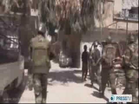 Syrian Arab Army Cleaning al-Yarmouk Camp