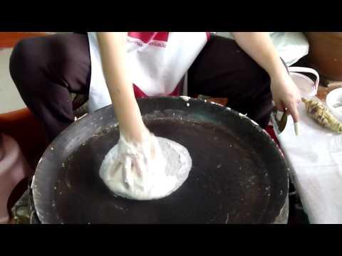 Galettes de riz ultra fines en Thailande