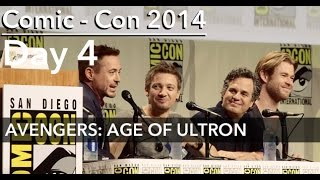 Comic-Con 2014: AVENGERS: AGE OF ULTRON Panel; feat ENTIRE