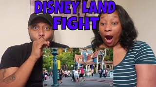 TROUBLE IN TOON TOWN | REACTING TO DISNEY LAND FIGHT