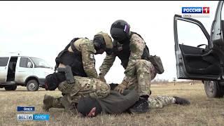 На полигоне 242-го учебного центра ВДВ прошла тренировка боевой группы «Гром»