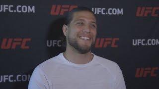 UFC 226: Brian Ortega Las Vegas Media Scrum