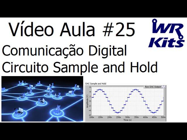 COMUNICAÇÃO DIGITAL - CIRCUITO S/H | Vídeo Aula #25
