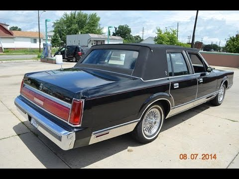 1989 Lincoln Town Car Videomoviles Com