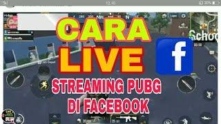 Cara live streaming game PUBG mobile ke facebook sangat mudah dengan app omlete arcade