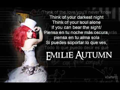 Emilie Autumn Face like Mine lyrics/letra