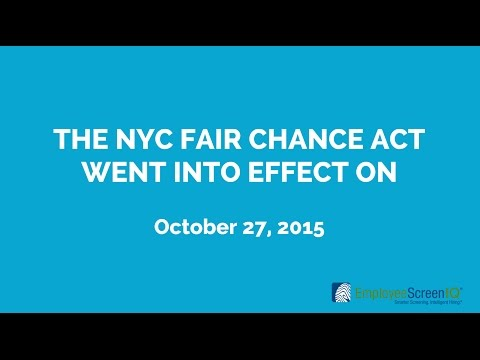 NYC Fair Chance Act: 6 Ways Employers Can Stay Compliant