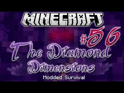 """TERMITE QUEEN BOSS BATTLE""   Diamond Dimensions Modded Survival #56   Minecraft - Smashpipe Games"