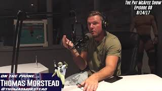 The Pat McAfee Show Simulcast Ep. 68- Thomas Morstead Interview 9-14-17
