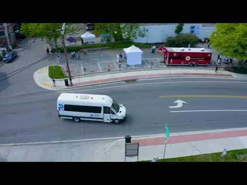 Perrone Robotics TONY-AV Star public road shuttle