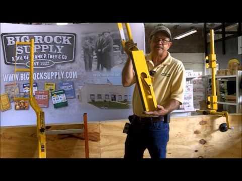 AES Raptor LRE Grab Safe Portable Ladder Walkthrough Extension