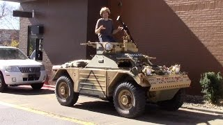 I Drove an Armored Military Vehicle Around Suburban Nashville