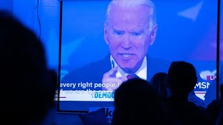 Virtual debate 'plays into Joe Biden's hands'