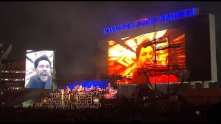 Super Bowl LV Pepsi Halftime Show, a First-Person View within the Stadium (Part 1 of 2), *RE-UPLOAD*