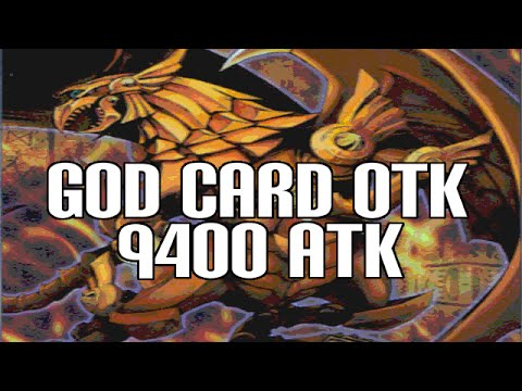 Yugioh The Winged Dragon of Ra OTK - 9400 ATK God Card!