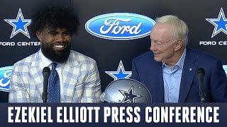 Ezekiel Elliott Press Conference | CBS Sports HQ