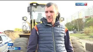 Омские автомобилисты начали ездить по дороге-дублёру улицы 70 лет Октября