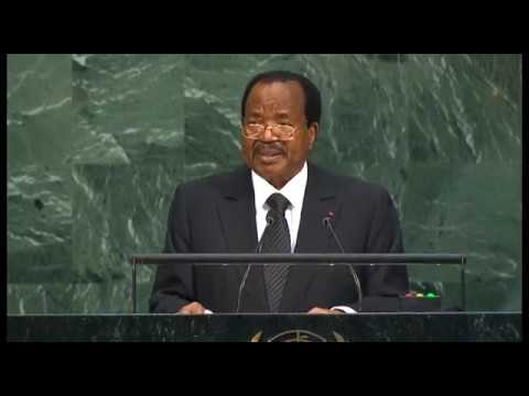 Discours de S.E.  Paul BIYA à la tribune des Nations Unies, le 22 septembre 2017