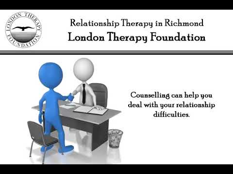 Relationship Therapy in Richmond London Therapy Foundation