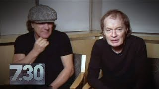 Malcolm Young can't remember AC/DC's songs anymore (2014) | 7.30