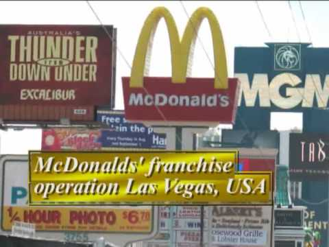 Critically evaluate the international strategy for mcdonalds