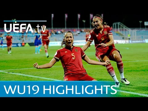 Womens Under-19  highlights: Spain 4-3 Netherlands