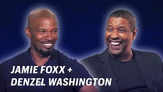 Jamie Foxx Interviews Denzel Washington    OFF SCRIPT a Grey Goose Production