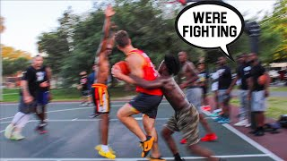 They Were Talking CRAZY SH** & Wanted To Fight!! 5v5 Basketball