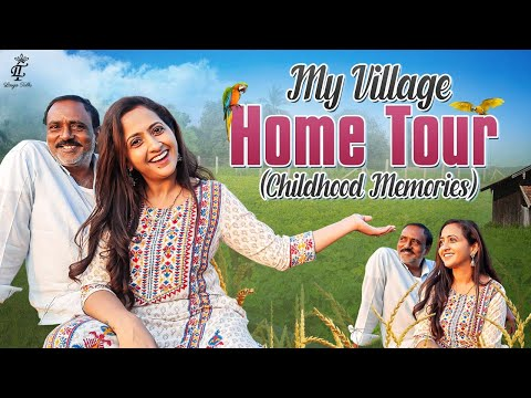 Anchor Lasya shares her home tour, childhood memories in native village