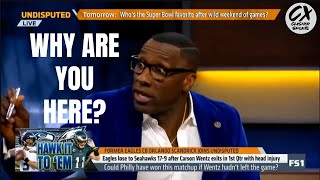 Shannon Sharpe **THROWS SHADE** At Orlando Scandrick and Will Cain