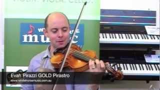 Violin String Review Comparison on the SAME violin! Buy Thomastik or Pirastro?