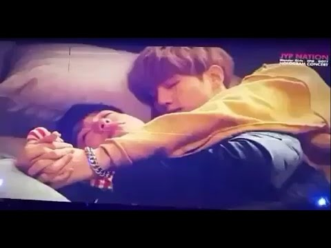 MARKJIN THEY SLEEP TOGETHER?!! GOT7 ENG/ESP SUB