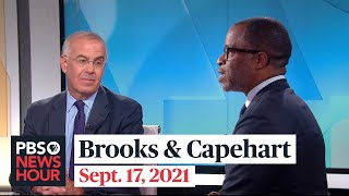 Brooks and Capehart on border politics, Biden's job approval, U.S. and France tensions