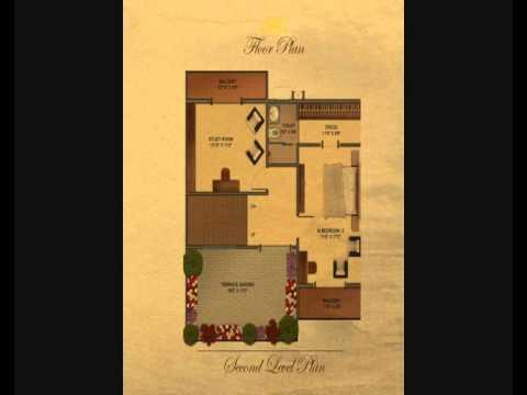 Roman villas in sarjapur floor plans