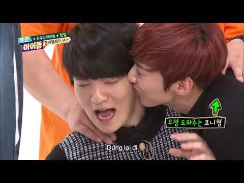 주간아이돌 (Weekly Idol) - 사랑이 넘치는 TEEN TOP의 랜덤플레이 댄스 (Vietnam Sub)